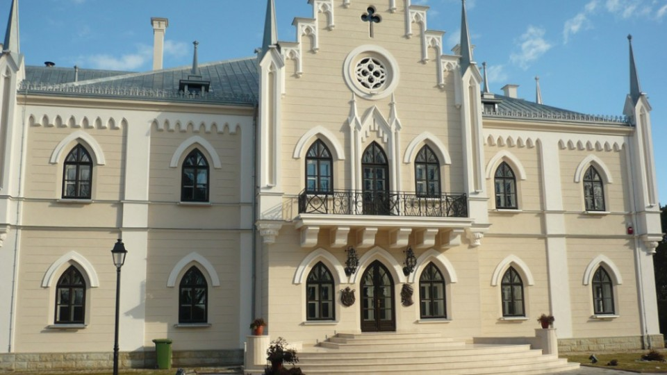 Restaurare Palatul Alexandru Ioan Cuza Ruginoasa